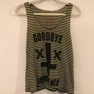 "Urban Outfitters Le Shirt ""Goodbye Innocence"" Tank"